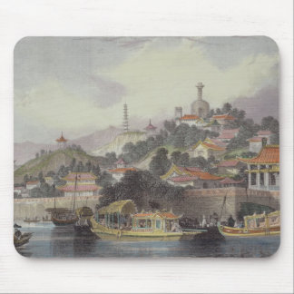 Garden of the Imperial Palace, Peking, from 'China Mouse Pad