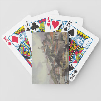 Garden of the Imperial Palace, Peking, from 'China Bicycle Poker Cards