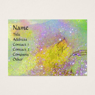 GARDEN OF THE LOST SHADOWS BUTTERFLY MONOGRAM BUSINESS CARD