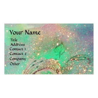 GARDEN OF THE LOST SHADOWS BUTTERFLY MONOGRAM Double-Sided STANDARD BUSINESS CARDS (Pack OF 100)