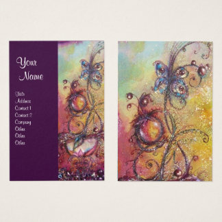 GARDEN OF THE LOST SHADOWS - BUTTERFLY PLANT BUSINESS CARD