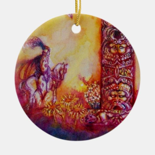 GARDEN OF THE LOST SHADOWS- BUTTERFLY PLANT Heart Christmas Ornaments