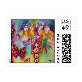 GARDEN OF THE LOST SHADOWS ,FAERIES AND BUTTERFLY POSTAGE