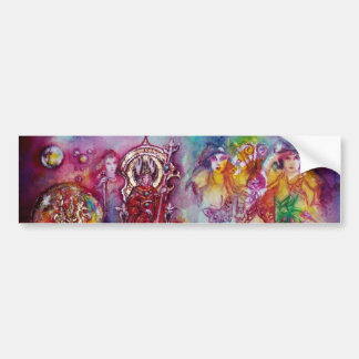 GARDEN OF THE LOST SHADOWS, FAERY AND BUTTERFLIES BUMPER STICKER