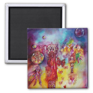GARDEN OF THE LOST SHADOWS ,FAERY AND BUTTERFLIES MAGNET