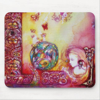 GARDEN OF THE LOST SHADOWS -FAERY AND BUTTERFLIES MOUSE PAD