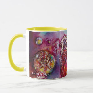 GARDEN OF THE LOST SHADOWS ,FAERY AND BUTTERFLIES MUG