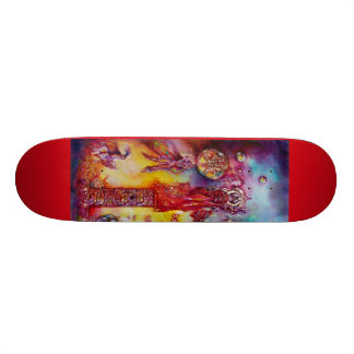 GARDEN OF THE LOST SHADOWS, FAERY AND BUTTERFLIES CUSTOM SKATE BOARD