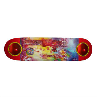 GARDEN OF THE LOST SHADOWS, FAERY AND BUTTERFLIES SKATEBOARD