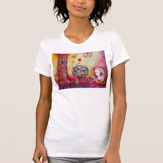 GARDEN OF THE LOST SHADOWS, FAERY AND BUTTERFLIES T-Shirt