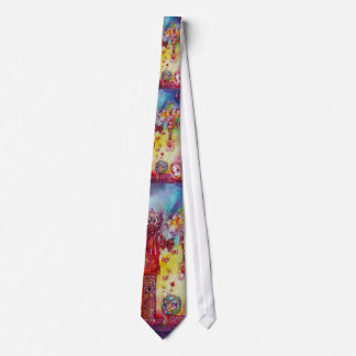 GARDEN OF THE LOST SHADOWS / FAERY AND BUTTERFLIES TIE
