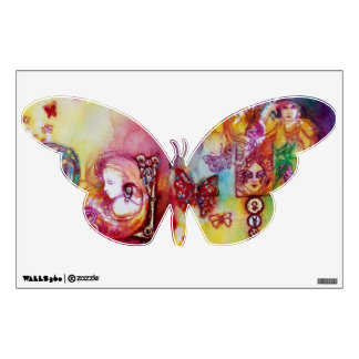 GARDEN OF THE LOST SHADOWS, FAERY AND BUTTERFLIES WALL STICKER
