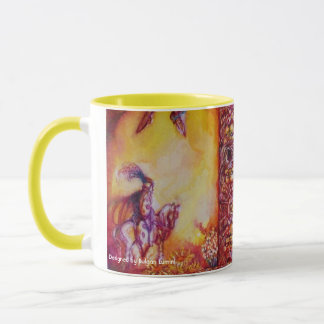 GARDEN OF THE LOST SHADOWS /FAERY AND BUTTERFLY MUG