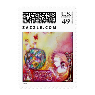 GARDEN OF THE LOST SHADOWS ,FAERY AND BUTTERFLY POSTAGE STAMPS