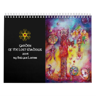 GARDEN OF THE LOST SHADOWS FAERY& BUTTERFLIES 2014 CALENDAR