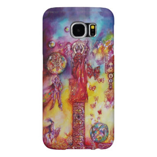 GARDEN OF THE LOST SHADOWS,FAIRIES AND BUTTERFLIES SAMSUNG GALAXY S6 CASE