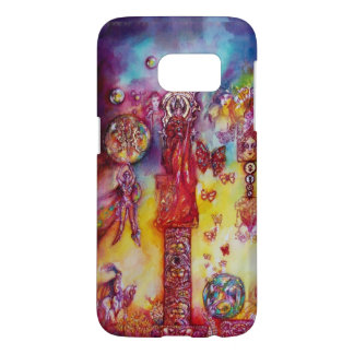 GARDEN OF THE LOST SHADOWS,FAIRIES AND BUTTERFLIES SAMSUNG GALAXY S7 CASE