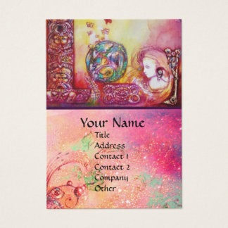 GARDEN OF THE LOST SHADOWS - FAIRY AND BUTTERFLIES BUSINESS CARD