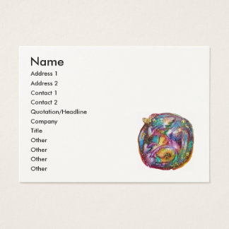 GARDEN OF THE LOST SHADOWS / FAIRY AND BUTTERFLIES BUSINESS CARD
