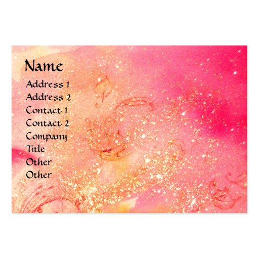GARDEN OF THE LOST SHADOWS - FAIRY AND BUTTERFLIES BUSINESS CARD TEMPLATE