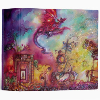 GARDEN OF THE LOST SHADOWS -FLYING RED DRAGON BINDER