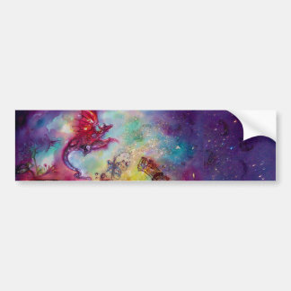 GARDEN OF THE LOST SHADOWS / FLYING RED DRAGON BUMPER STICKER