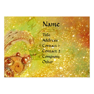 GARDEN OF THE LOST SHADOWS /FLYING RED DRAGON LARGE BUSINESS CARDS (Pack OF 100)