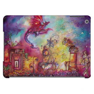 GARDEN OF THE LOST SHADOWS / FLYING RED DRAGON CASE FOR iPad AIR