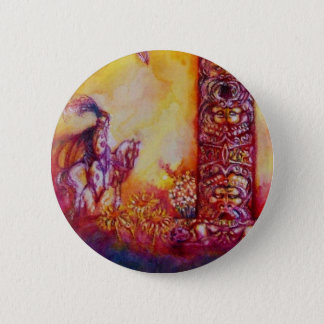GARDEN OF THE LOST SHADOWS - KNIGHT AND HORSE BUTTON