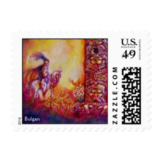 GARDEN OF THE LOST SHADOWS ,KNIGHT AND HORSE STAMPS