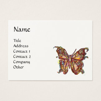 GARDEN OF THE LOST SHADOWS - MAGIC BUTTERFLIES BUSINESS CARD