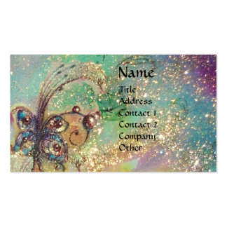 GARDEN OF THE LOST SHADOWS -MAGIC BUTTERFLY PLANT BUSINESS CARD TEMPLATE