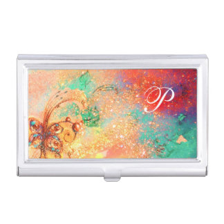 GARDEN OF THE LOST SHADOWS MAGIC BUTTERFLY PLANT BUSINESS CARD CASE