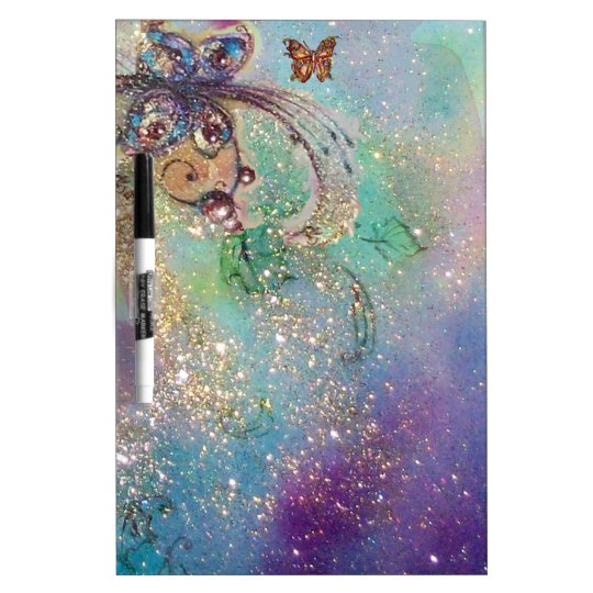 GARDEN OF THE LOST SHADOWS,MAGIC BUTTERFLY PLANT Dry-Erase BOARD