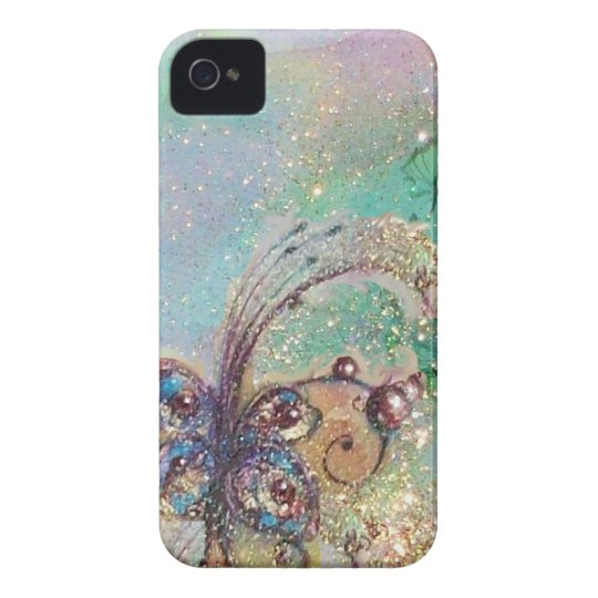 GARDEN OF THE LOST SHADOWS -MAGIC BUTTERFLY PLANT iPhone 4 COVER