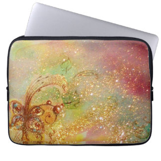 GARDEN OF THE LOST SHADOWS /MAGIC BUTTERFLY PLANT LAPTOP SLEEVES