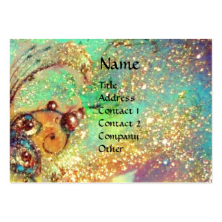 GARDEN OF THE LOST SHADOWS -MAGIC BUTTERFLY PLANT LARGE BUSINESS CARD