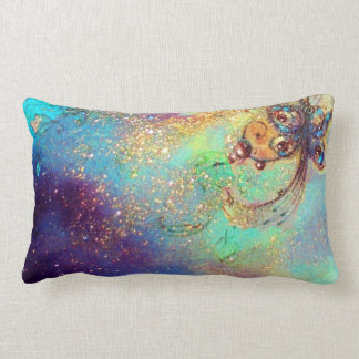 GARDEN OF THE LOST SHADOWS -MAGIC BUTTERFLY PLANT LUMBAR PILLOW