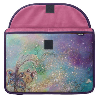 GARDEN OF THE LOST SHADOWS -MAGIC BUTTERFLY PLANT MacBook PRO SLEEVES