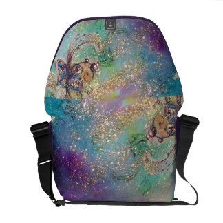 GARDEN OF THE LOST SHADOWS -MAGIC BUTTERFLY PLANT MESSENGER BAG