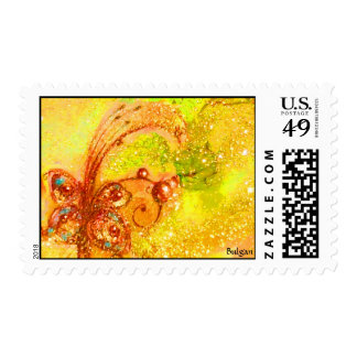 GARDEN OF THE LOST SHADOWS -MAGIC BUTTERFLY PLANT POSTAGE STAMP