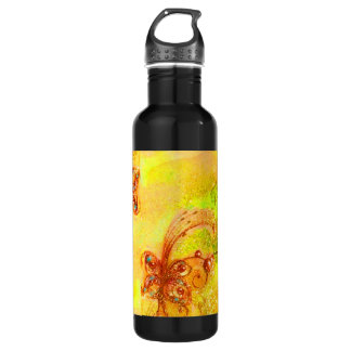 GARDEN OF THE LOST SHADOWS -MAGIC BUTTERFLY PLANT WATER BOTTLE