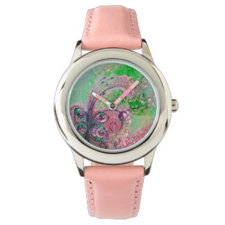 GARDEN OF THE LOST SHADOWS,MAGIC BUTTERFLY PLANT WRIST WATCH