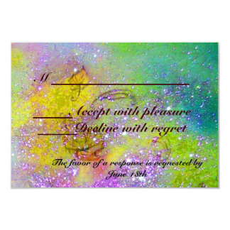 GARDEN OF THE LOST SHADOWS / MAGIC BUTTERFLY RSVP CARD