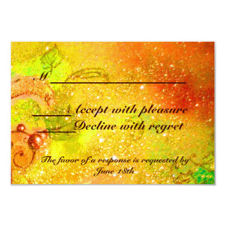 GARDEN OF THE LOST SHADOWS / MAGIC BUTTERFLY RSVP 3.5X5 PAPER INVITATION CARD