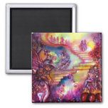 GARDEN OF THE LOST SHADOWS / MYSTIC STAIRS 2 INCH SQUARE MAGNET