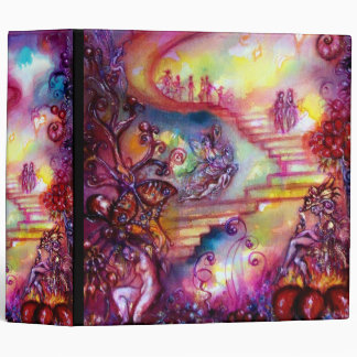 GARDEN OF THE LOST SHADOWS -MYSTIC STAIRS 3 RING BINDER