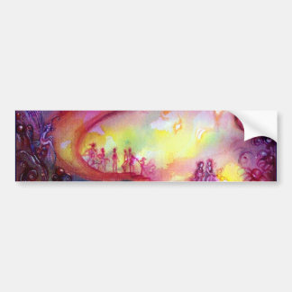 GARDEN OF THE LOST SHADOWS / MYSTIC STAIRS BUMPER STICKER