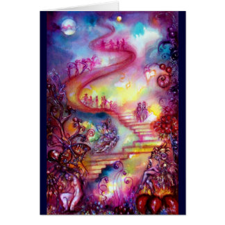 GARDEN OF THE LOST SHADOWS / MYSTIC STAIRS CARDS