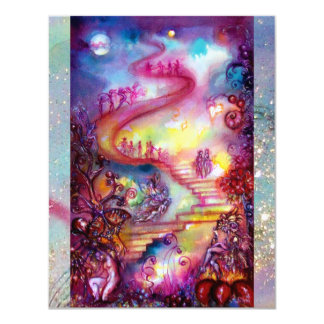 GARDEN OF THE LOST SHADOWS, MYSTIC STAIRS CARD